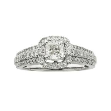 jcpenney.com | Certified Diamonds 1 CT. T.W. Diamond 14K White Gold Engagement Ring