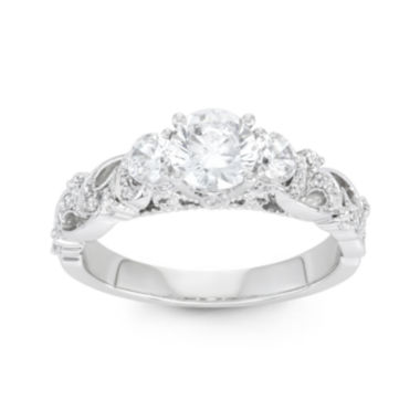 jcpenney.com | Botanical Bridal 1⅓ CT. T.W. 14K White-Gold Ring