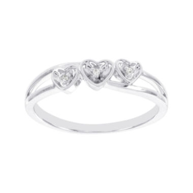 jcpenney.com | Lumastar Diamond-Accent Sterling Silver Promise Ring