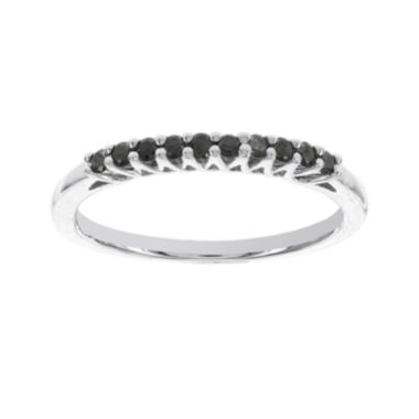 jcpenney.com | 1/5 CT. T.W. Color-Enhanced Black Diamond Band