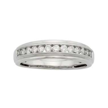 jcpenney.com | Mens 1 CT. T.W. Certified Diamond 14K White Gold Band