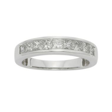 jcpenney.com | 1 CT. T.W. Certified Diamond 14K White Gold Wedding Band Ring