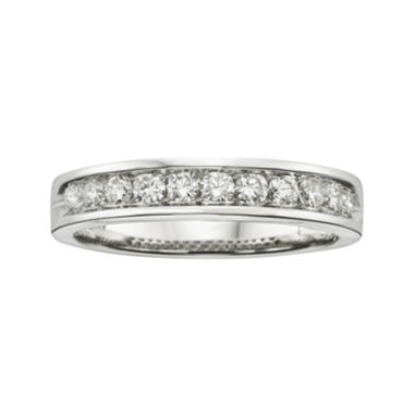 jcpenney.com | 1/2 CT. T.W. Certified Diamonds 18K White Gold Band Ring