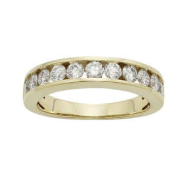 jcpenney.com | 1 CT. T.W. Certified Diamonds 14K Yellow Gold Wedding Band Ring