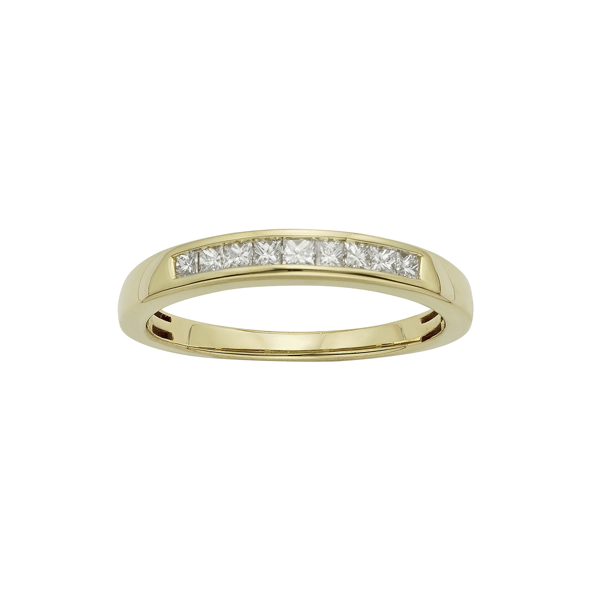 Wedding 20Bands jcpenny wedding rings T W Certified Diamonds 14K Yellow Gold Wedding Band Ring JCPenney