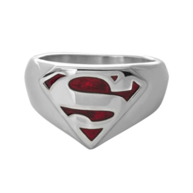 jcpenney.com | DC Comics® Stainless Steel Superman Ring