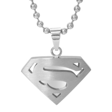 jcpenney.com | DC Comics® Stainless Steel Superman Pendant