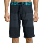 Burnside® Stacked Swim Trunks