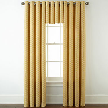 Jcpenney Home Rory Grommet Top Window Treatments Jcpenney