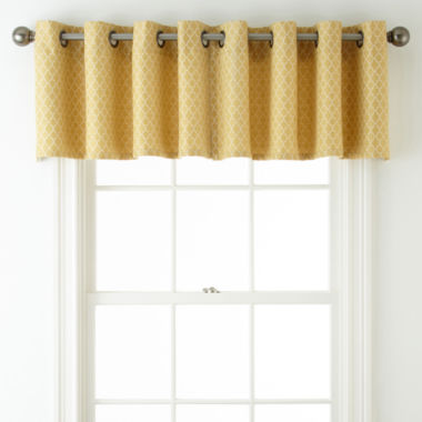 jcpenney.com | JCPenney Home™ Rory Grommet-Top Tailored Valance