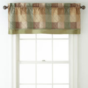 Abbot Tailored Rod-Pocket Valance