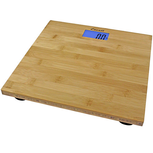 Escali® Bamboo Bathroom Scale
