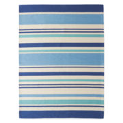 Outdoor Oasis Stripe Indoor/Outdoor Rectangular Rug