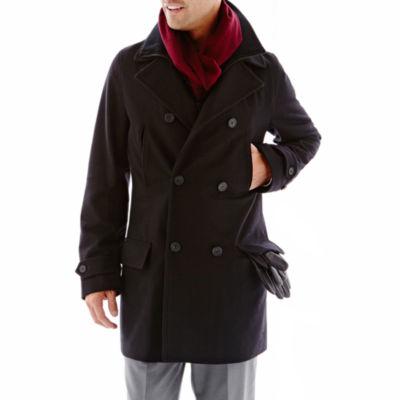 Men&39s Overcoat Men&39s Top Coat &amp Wool Overcoat for Men - JCPenney