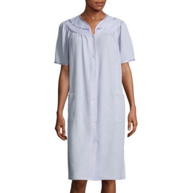 jcpenney.com | Adonna Short-Sleeve Duster Robe