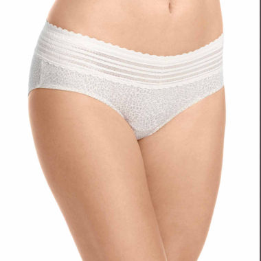 jcpenney.com | Warner's No Pinching, No Problems.® Lace-Trim Hipster Panties - 5609