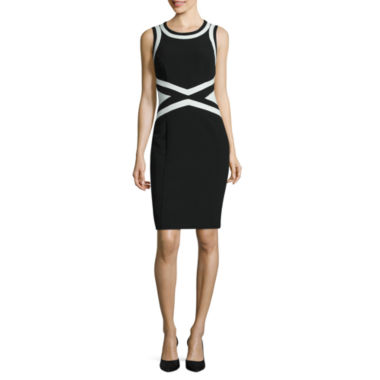 jcpenney.com | Worthington Sleeveless Sheath Dress