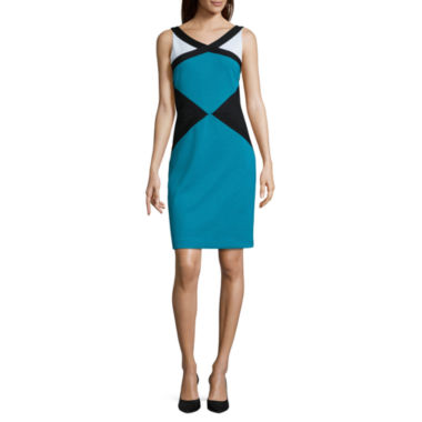 jcpenney.com | Nicole By Nicole Miller Sleeveless Sheath Dress