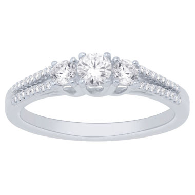 jcpenney.com | 14K White Gold 1/2 Cttw Ring
