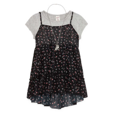 jcpenney.com | Arizona Short Sleeve Layered Top - Big Kid