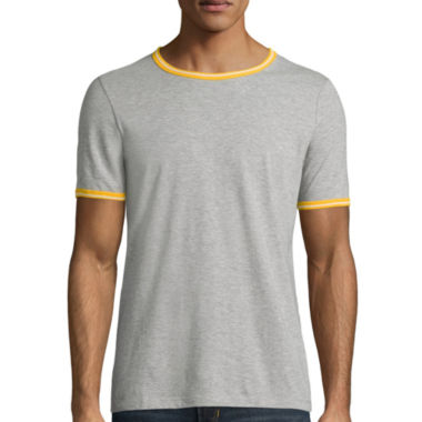 jcpenney.com | Arizona Short Sleeve Crew Neck Ringer T-Shirt