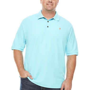 jcpenney.com | IZOD Short Sleeve Solid Advantage Pique Polo Shirt- Big & Tall