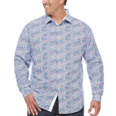 jcpenney.com | Steve Harvey Button-Front Shirt-Big and Tall