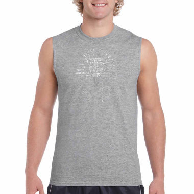 jcpenney.com | Los Angeles Pop Art Sleeveless Crew Neck T-Shirt-Big and Tall