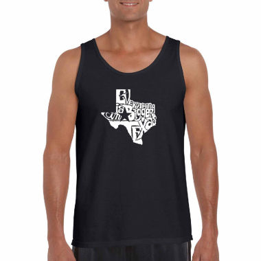 jcpenney.com | Los Angeles Everything is bigger in texas Short Sleeve Crew Neck T-Shirt-Big And Tall