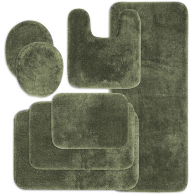 Hunter Green Bath Rugs Home Decor