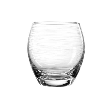 jcpenney.com | Qualia Glass Graffiti 4-pc. Double Old Fashioned