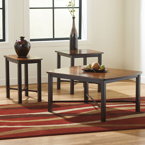 Signature Design by Ashley ® Fletcher 3pc Occasional Table Set Coffee Table Set