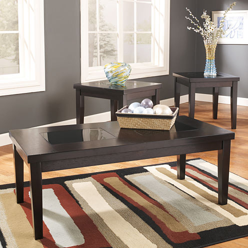 Signature Design by Ashley® Denja 3-piece Occasional Table Set