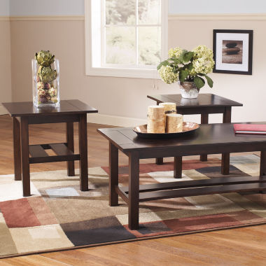 jcpenney.com | Signature Design by Ashley ® Lewis Occasional Table Set