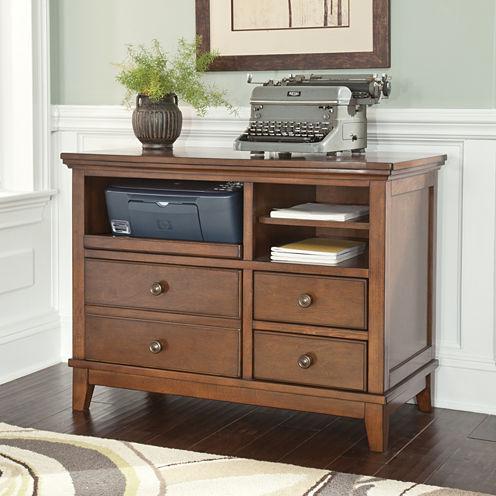 Signature Design By Ashley® Burkesville Home Office Cabinet