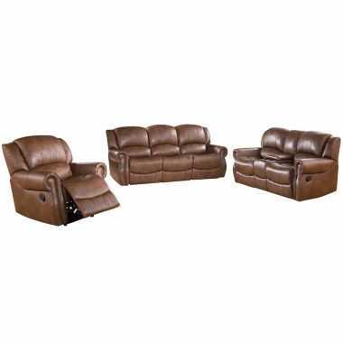 jcpenney.com | Alexander Faux Leather Sofa + Loveseat Set