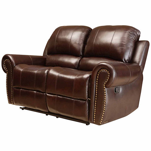 Charlotte Roll-Arm Reclining Loveseat
