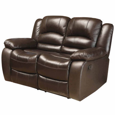 jcpenney.com | Emma Pad-Arm Reclining Loveseat