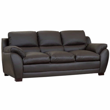 jcpenney.com | Piper Leather Pad-Arm Sofa