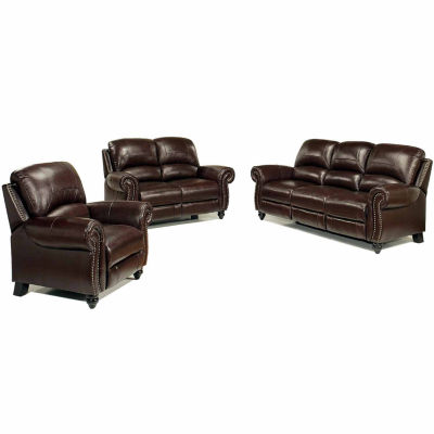 Sophia Leather Sofa Loveseat Set JCPenney