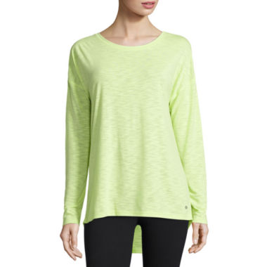 jcpenney.com | Xersion™ Studio Long-Sleeve Cross-Back Tee
