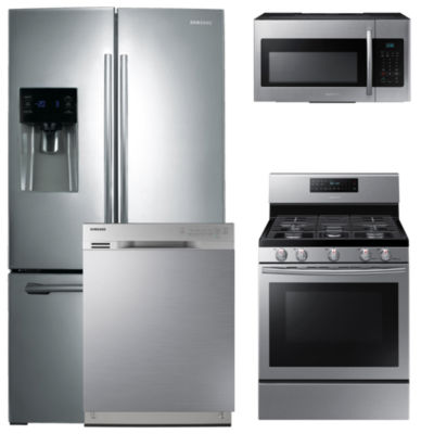 Jcpenney.com | Samsung 4 Pc. Gas Kitchen Package  Stainless Steel