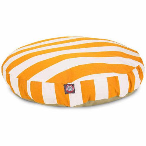 Majestic Pet Vertical Stripe Medium Round Bed