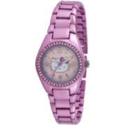 Hello Kitty® Round-Dial Bracelet Watch