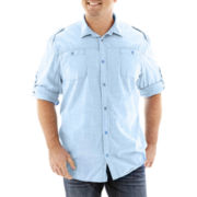 i jeans by Buffalo Woven Shirt-Big & Tall