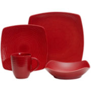 Red Vanilla Red Rice 16-pc. Dinnerware Set