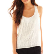 Bisou Bisou® Racerback Sequin Tank Top