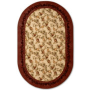 jcp home™ Elegant Fruit Washable Oval Rugs
