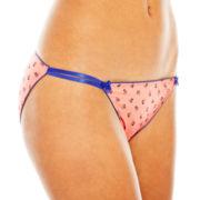 Flirtitude® String Bikini Panties