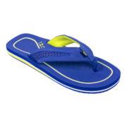 IZOD® Perforated Sport Flip Flops